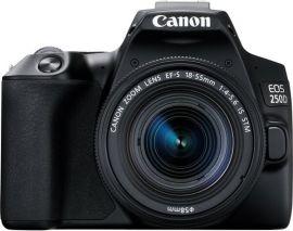 Акция на Фотоаппарат CANON EOS 250D 18-55 IS STM Black (3454C007) от MOYO