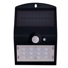 Акция на Светильник уличный LED Solar V-TAC SKU-8276, 1.5W, DC, 4000К, датчик движения, 1200mAh, черный (3800157627948) от MOYO