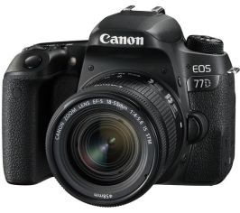 Акция на Фотоаппарат CANON EOS 77D 18-55 IS STM (1892C022) от MOYO