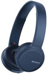 Акция на Наушники Bluetooth Sony WH-CH510L Синій от MOYO