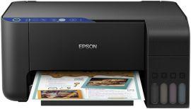 Акция на МФУ струйное  Epson L3151 Фабрика печати с WI-FI (C11CG86411) от MOYO