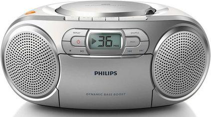 Магнитола Philips AZ127 Silver (AZ127/12) от MOYO