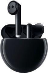 Акция на Наушники Bluetooth Huawei FreeBuds 3 (CM-SHK00) + чехол для зарядки (CM-SHK) Carbon Black от MOYO