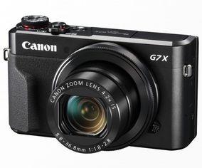 Акция на Фотоаппарат CANON PowerShot G7 X Mark II Black (1066C012) от MOYO