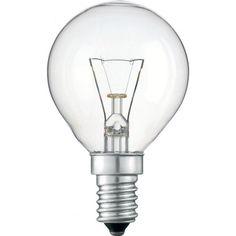 Лампа накаливания Philips E14 60W 230V P45 CL 1CT/10X10F (926000005064) от MOYO