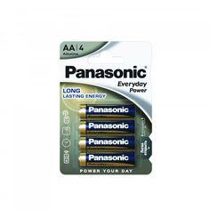 Акция на БатарейкаPanasonicEveryday PowerAAAlkaline 4 шт(LR6REE/4BR) от MOYO