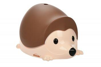 Детский горшок QCBABY ЁЖИК коричневый (QC9903brown) от MOYO