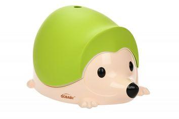 Детский горшок QCBABY ЁЖИК зеленый (QC9903green) от MOYO