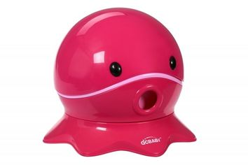 Детский горшок QCBABY ОСЬМИНОГ розовый (QC9906pink) от MOYO