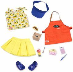 Акция на Набор одежды для кукол Our Generation Deluxe Повар-гриль (BD30378Z) от MOYO