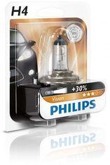 Акция на Лампа галогеновая Philips H4 Vision (12342PRC2) от MOYO