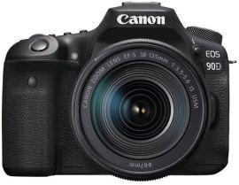 Акция на Фотоаппарат CANON EOS 90D + 18-135 IS nano USM (3616C029) от MOYO