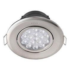 Светильник точечный встраиваемый Philips 47040 LED 5W 2700K Nickel (915005089001) от MOYO