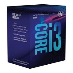 Процессор Intel Core i3-8100 3.6GHz/8GT/s/6MB (BX80684I38100) s1151 BOX от MOYO