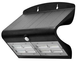 Светильник уличный LED Solar  V-TAC SKU-8279, 6.8W, 4000К, датчик движения, 1200mAh, черный (3800157627962) от MOYO