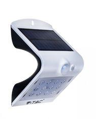 Светильник уличный LED Solar V-TAC SKU-8276, 1.5W, DC, 4000К, датчик движения, 1200mAh, белый (3800157627931) от MOYO