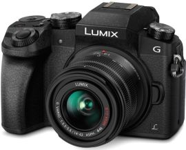 Акция на Фотоаппарат PANASONIC DMC-G7 + 14-42mm Black (DMC-G7KEE-K) от MOYO