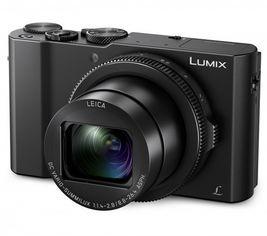 Акция на Фотоаппарат PANASONIC LUMIX DMC-LX15 Black (DMC-LX15EE-K) от MOYO