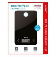 Весы кухонные Ardesto SCK-839B черные от MOYO
