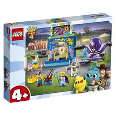 Акция на Конструктор LEGO Juniors Парк аттракционов Базза и Вуди (10770) от MOYO