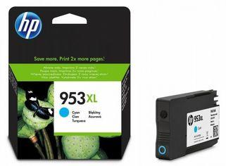 Акция на Картридж струйный HP No.953XL Officejet Pro 8210/8710/8720/8725/8730 Cyan, 1600 стр (F6U16AE) от MOYO