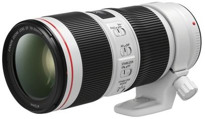 Акция на Объектив Canon EF 70-200 mm f/4L IS II USM (2309C005) от MOYO