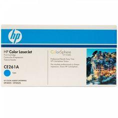 Акция на Картридж лазерный Brother HP CLJ CP4025dn/4025n/4525dn 4525n/4525xh cyan (CE261A) от MOYO