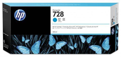 Акция на Картридж струйный HP No.728 DJ T730/T830 Cyan 300 ml (F9K17A) от MOYO