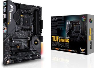 Акция на Материнcкая плата ASUS TUF GAMING X570-PLUS от MOYO