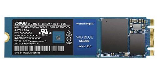Акция на SSDнакопительWDSN500500GBM.2NVMePCIe3.04x2280TLC(WDS500G1B0C) от MOYO