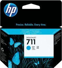 Акция на Картридж струйный HP No.711 DesignJet 120/520 Cyan (CZ130A) от MOYO