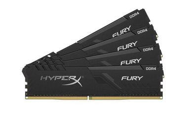 Акция на Память для ПК HyperX DDR4 2666 32GB Fury Black  (HX426C16FB3K4/32) от MOYO