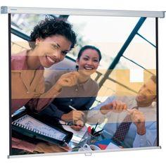 Акция на Экран Projecta SlimScreen 180x180см, MW (10200063) от MOYO