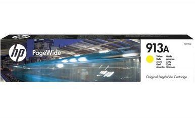 Акция на Картридж струйный HP No.913A PageWide 352/377/452/477 Yellow (F6T79AE) от MOYO