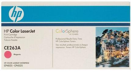 Акция на Картридж лазерный HP CLJ CP4025dn/4025n/4525dn/ 4525n/4525xh magenta (CE263A) от MOYO