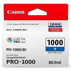 Акция на Картридж струйный CANON PFI-1000B Blue (0555C001) от MOYO