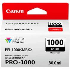 Акция на Картридж струйный CANON PFI-1000MBk Matte black (0545C001) от MOYO