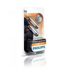 Лампа накаливания Philips Festoon T10.5X43 (12866B2) от MOYO