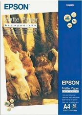 Акция на Фотобумага EPSON Matte Paper-Heavyweight, 50л. (C13S041256) от MOYO