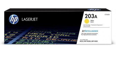 Акция на Картридж лазерный HP 203A CLJ M280/M281/M254 Yellow,1300 стр (CF542A) от MOYO