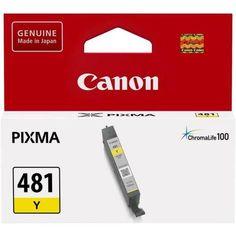 Акция на Картридж струйный CANON CLI-481Y Yellow (2100C001) от MOYO
