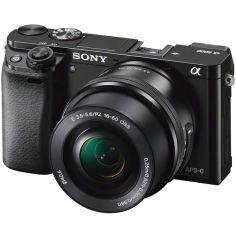Акция на Фотоаппарат SONY Alpha a6000 + 16-50 Black (ILCE6000LB.CEC) от MOYO