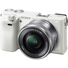 Акция на Фотоаппарат SONY Alpha a6000 + 16-50 White (ILCE6000LW.CEC) от MOYO