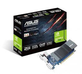 Акция на Видеокарта ASUS GeForce GT710 2GB DDR3 Silent (GT710-SL-2GD5) от MOYO