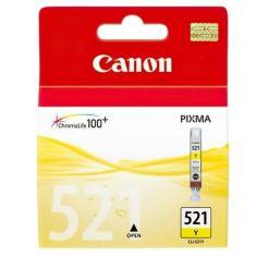 Акция на Картридж струйный CANON CLI-521Y Yellow MP540/ 630 (2936B004) от MOYO