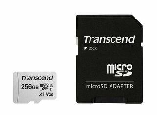 Акция на КартапамятиTranscendmicroSDXC 256GB Class 10 UHS-I R95/W45MB/s + SD-адаптер от MOYO