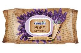 Влажные салфетки Ultra Compact Poem Французская лаванда, с клапаном, 100 шт. от Pampik