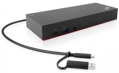 Док-станция ThinkPad Hybrid USB-C with USB A Dock (40AF0135EU) от MOYO