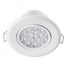 Светильник точечный встраиваемый Philips 47041 LED 5W 4000K White (915005089301) от MOYO