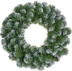 Венок Black Box Trees Norton декоративный 45 см зеленый с эффектом покрытия инеем (8718861288964) от Rozetka